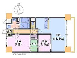 Avantage雅庵[3階]の間取り