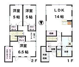 [一戸建] 石川県金沢市三池栄町 の賃貸【/】の間取り