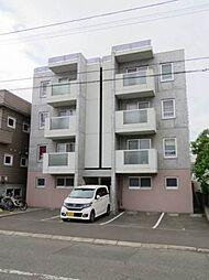 北海道札幌市東区北十二条東12丁目の賃貸マンションの外観
