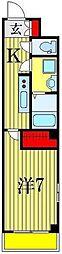 メゾンドK[2階]の間取り