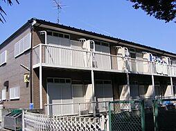 千葉県流山市大字南の賃貸アパートの外観