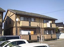富山県富山市堀の賃貸アパートの外観
