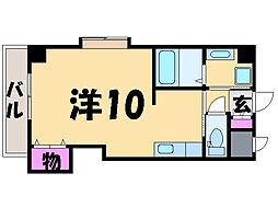 愛媛県松山市三番町7丁目の賃貸マンションの間取り
