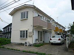 コスモ土浦右籾 メゾネット[(角)号室]の外観