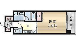 KHKコート西野田[3階]の間取り