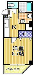 (仮称)此花区梅香新築マンション[6階]の間取り