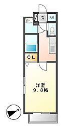 コンフォリア新栄[2階]の間取り