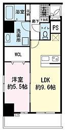 (仮称)高島町マンション[0305号室]の間取り