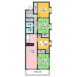 藤ビルI[2階]の間取り