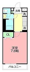 リブリ・テラ[2階]の間取り