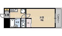 ノースコート[6階]の間取り