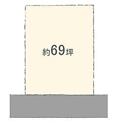 土地(はりま勝原駅から徒歩17分、229.00m²、1,700万円)
