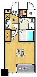 セレニテ甲子園1[2階]の間取り