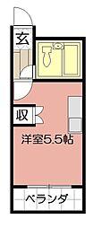 第14共立ビル[303号室]の間取り