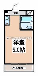 リリーフ明日香[3階]の間取り