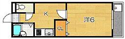 ユグドラシル[2階]の間取り