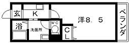 パンボナール[2階]の間取り