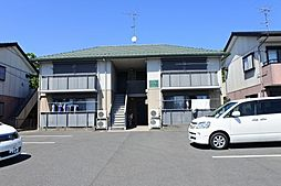 千葉県東金市広瀬の賃貸アパートの外観