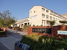 中学校神戸市立北神戸中学校まで3750m
