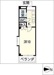 アメニティ鎌倉台[3階]の間取り