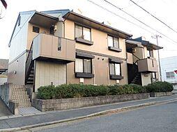 京都府京都市伏見区醍醐合場町の賃貸アパートの外観