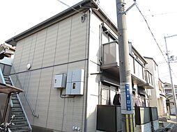 大阪府寝屋川市幸町の賃貸アパートの外観