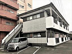 上國料アパートI[1階]の外観
