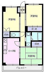 サンライズマンション[101号室号室]の間取り