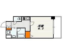 アスヴェル京都堀川高辻[2階]の間取り