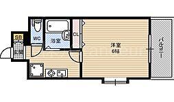 エスリード京橋ステーションプラザ[6階]の間取り