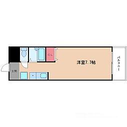 カンタル新大阪[9階]の間取り