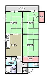 第7ACビル[3階]の間取り