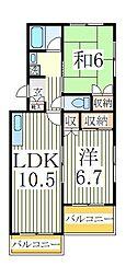 第2渋谷ビル[3階]の間取り