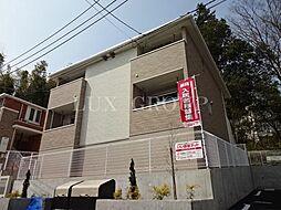 東京都八王子市石川町の賃貸アパートの外観
