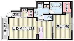 人丸前駅 6.8万円