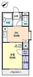 ヴァンマンション[3階]の間取り