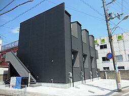 兵庫県尼崎市三反田町3丁目の賃貸アパートの外観