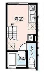 ティロフィナーレ松戸[1階]の間取り