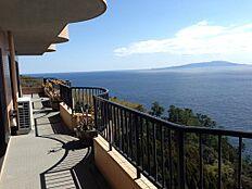 相模湾・伊豆大島をパノラマ眺望