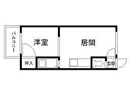 北海道札幌市南区澄川三条1丁目の賃貸アパートの間取り