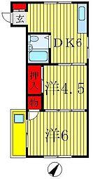 本山ビル[3階]の間取り