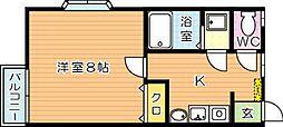 PLACE21(プレイス21)[2階]の間取り