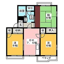 西川原駅 6.6万円