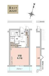 センチュリープラザ3[2階]の間取り