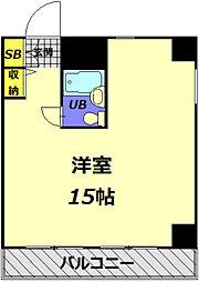 メゾン・ド・ノア大和田[338号室]の間取り