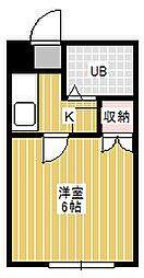 ジュネパレス松戸第504[1階]の間取り