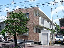 東京都国立市北の賃貸マンションの外観