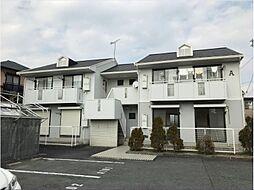 兵庫県姫路市北八代2丁目の賃貸アパートの外観