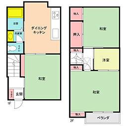 [一戸建] 神奈川県横浜市南区南太田1丁目 の賃貸【/】の間取り