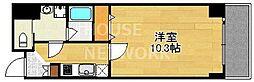 アスヴェル京都東堀川[306号室号室]の間取り